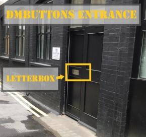 DMBUTTONS front door